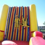 School events using giant inflatable bounce houses